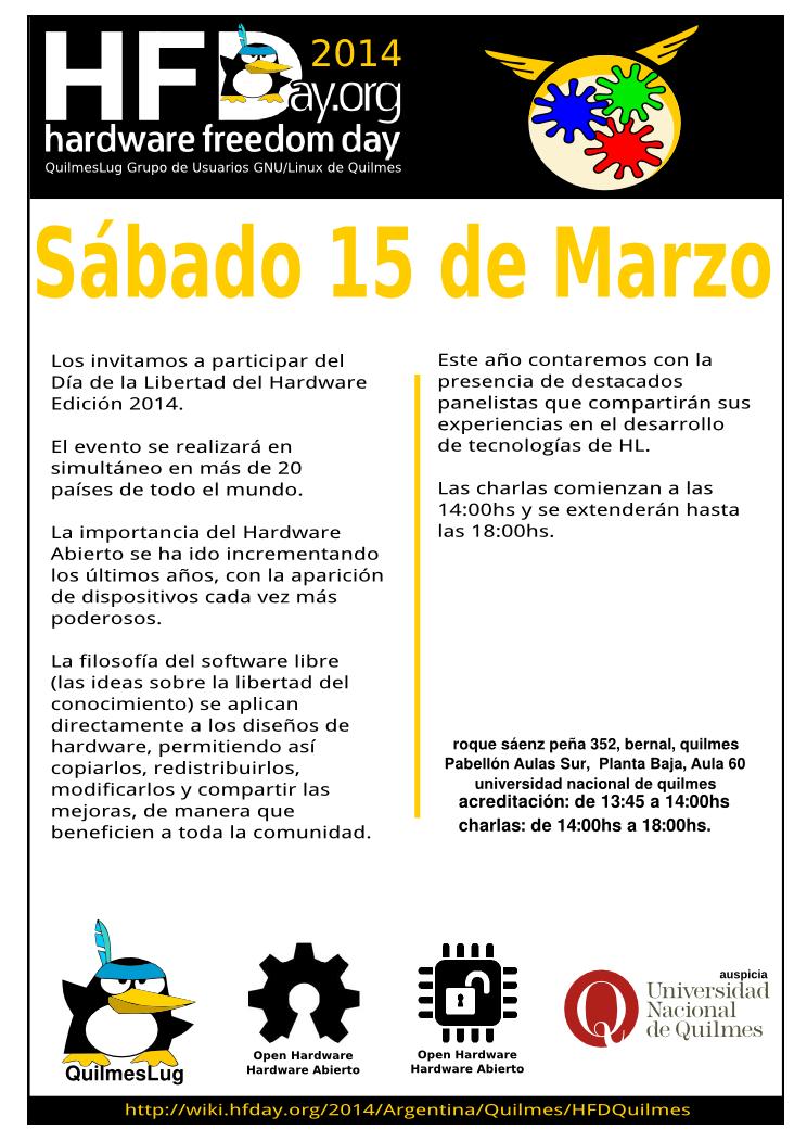 Posteer del evento